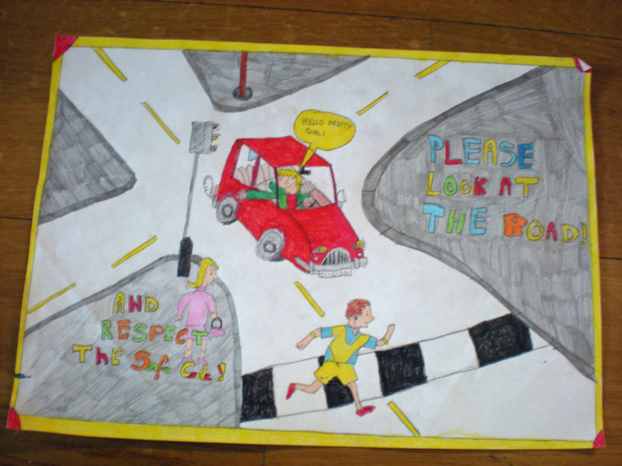 Our Road Safety Poster Competition Winner